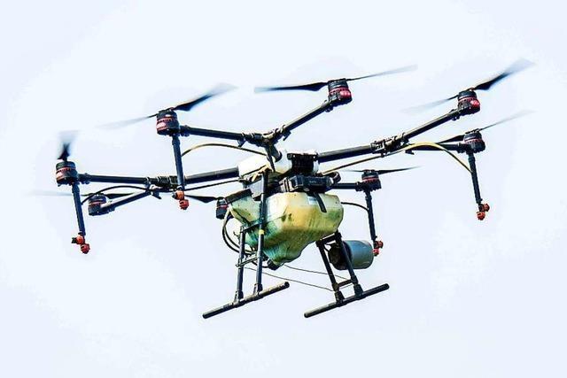 Drohnenflug übers Kreiskrankenhaus Lörrach endet mit Anzeige