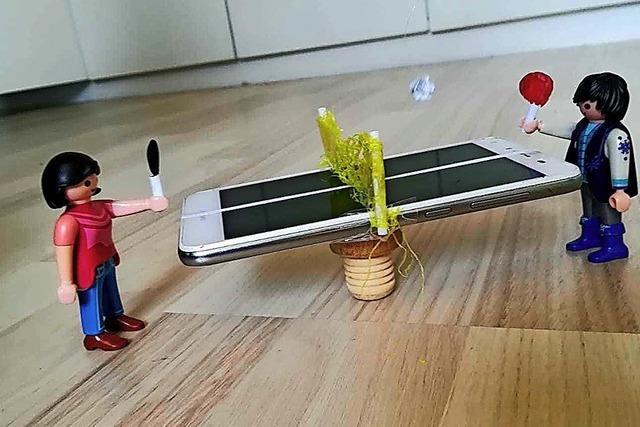 Tischtennis fast wie in echt