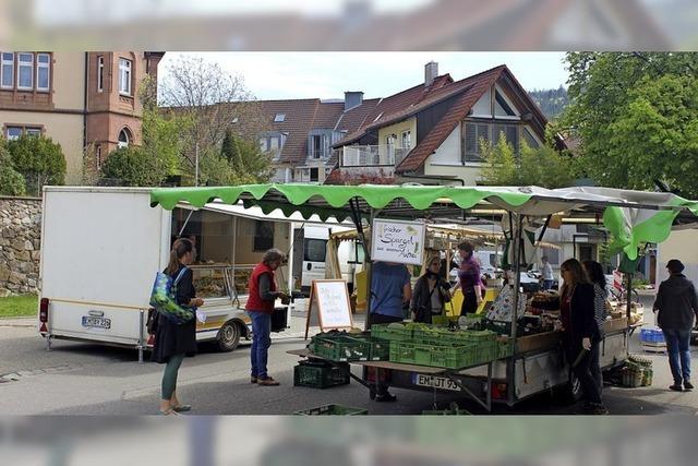 Morgen nochmal Markt an der Mauer