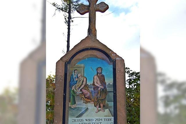 Hörnleberg-Kreuzweg ist Kleindenkmal des Monats