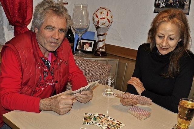 Das Kartenspiel Cego hat in Baden Tradition