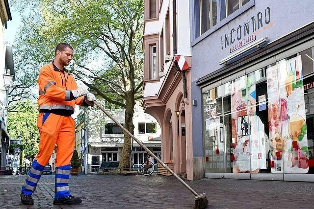 Freiburgs Innenstadt ist so sauber wie seit Jahrzehnten nicht