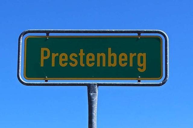 Prestenberg war einst Schauplatz eines Doppelmordes