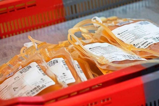 Uniklinik Freiburg ruft genesene Covid-19-Patienten zur Plasmaspende auf