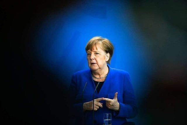Bundeskanzlerin Merkel warnt vor Rückfall in der Corona-Krise