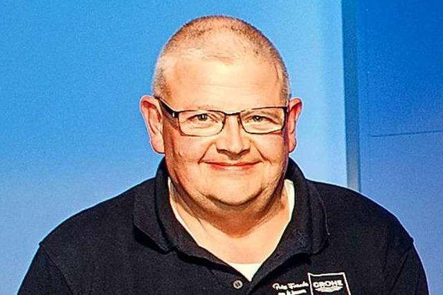 Hans-Martin Souchon verlässt das Grohe-Werk Lahr
