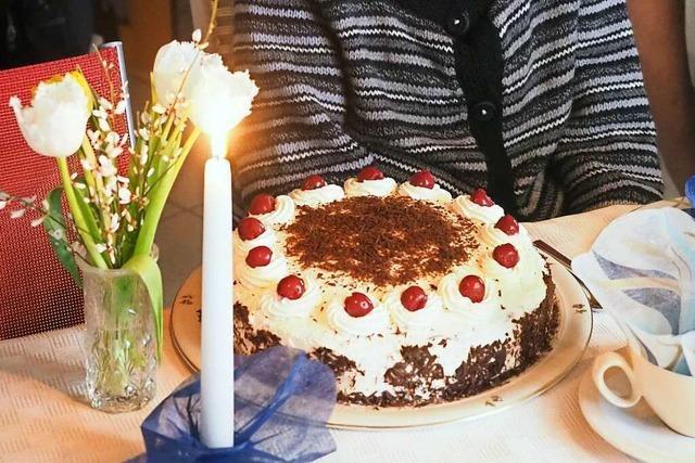 Wie Geburtstagskinder im Markgräflerland trotz Corona feiern