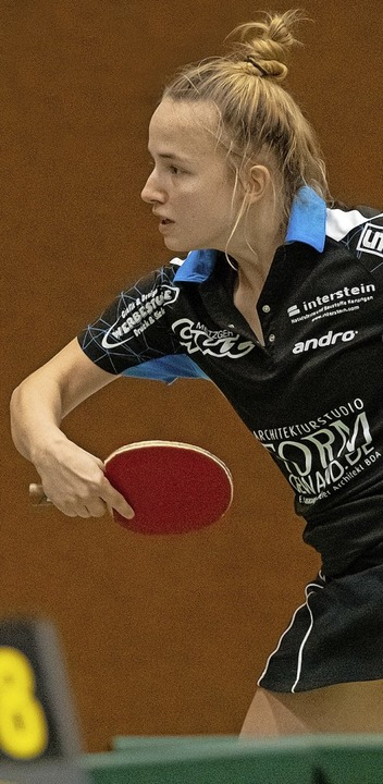 Die Polin Agnieszka Ochmann spielte be...nger Frauen eine herausragende Runde.     Foto: Wolfgang Scheu