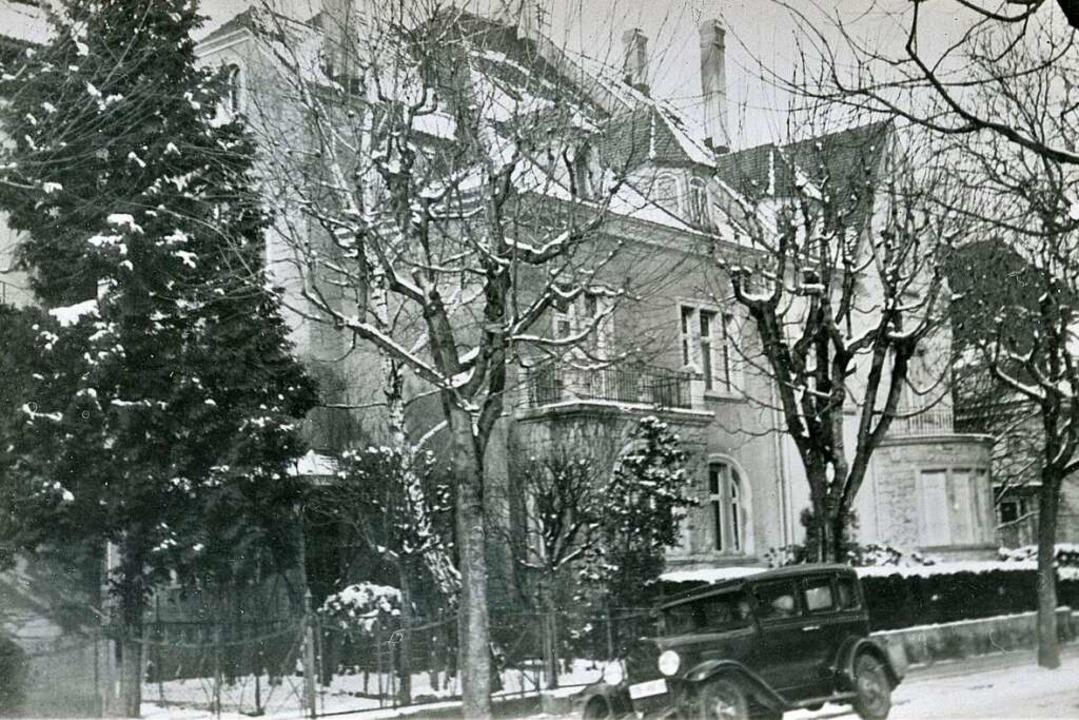 Die Gebäude Fürstenbergstraße 14 und 1...ls noch eine Seltenheit in der Wiehre.  | Foto: Stadtarchiv M70S_203-27_Nr.67