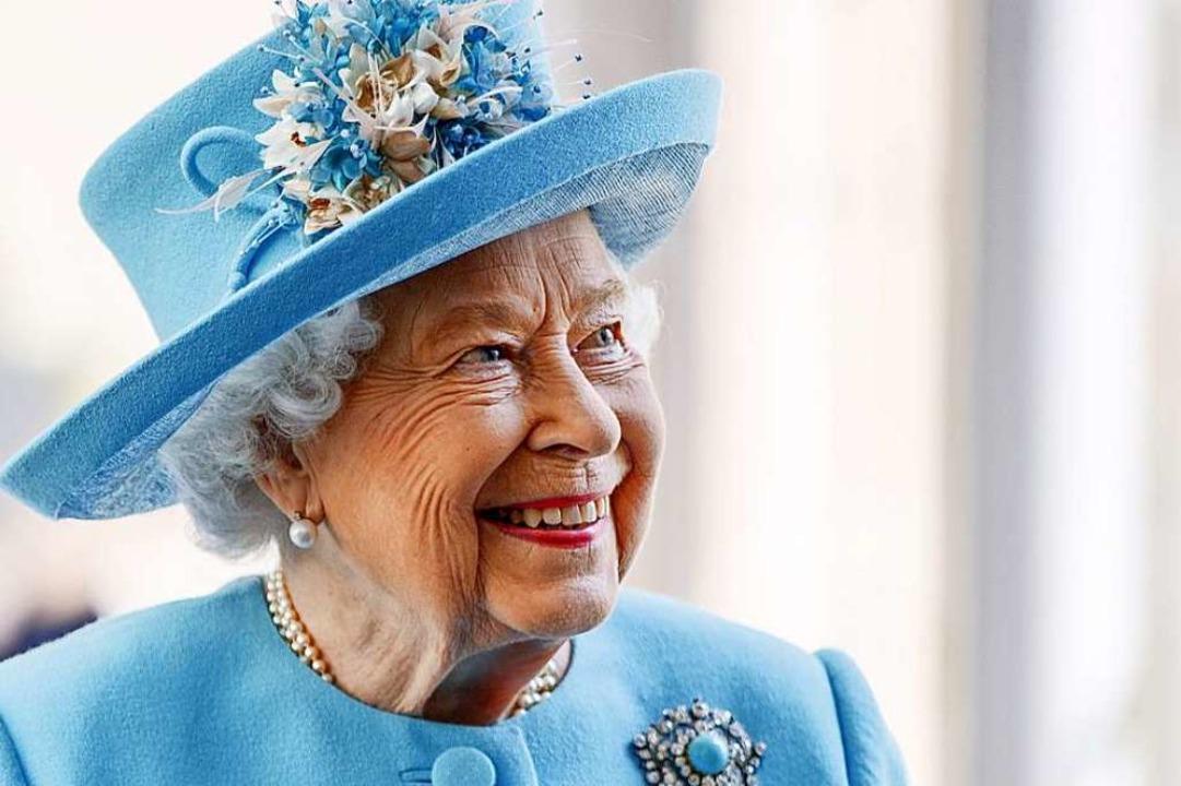 Queen Elizabeth II. hat gut lachen: Mi...ie fit – geistig und körperlich.  | Foto: Tolga Akmen (dpa)