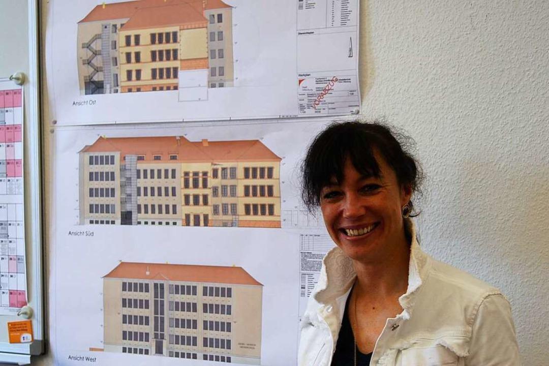 Monsch-Rektorin Silke Moser    Foto: Carola Bruhier