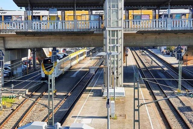Bahnverkehr am Hauptbahnhof Freiburg läuft nach Unfall wieder an