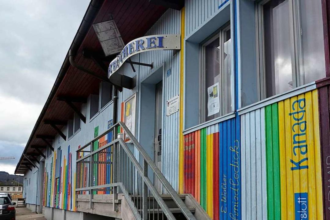 Die Bad Säckinger Stadtbücherei öffnet...ich ist sie  vorerst allerdings nicht.  | Foto: Hrvoje Miloslavic