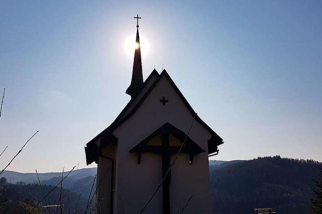 Beim Bau dieser Zeller Kapelle packte das ganze Dorf mit an