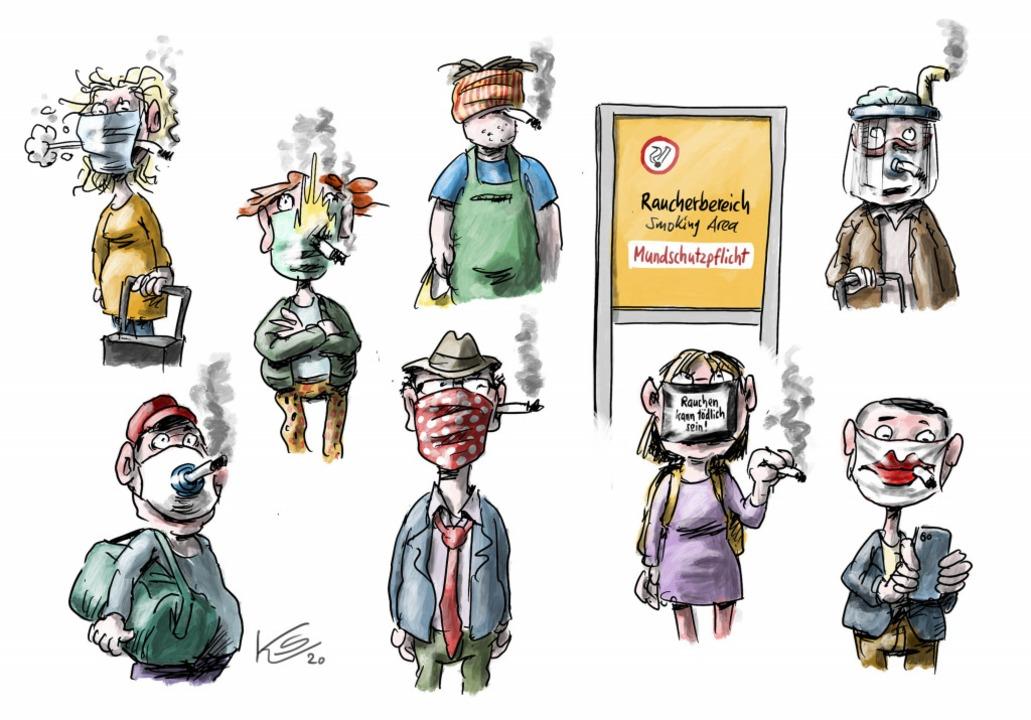 So sieht unser Karikaturist Klaus Stuttmann die Lage  | Foto: Klaus Stuttmann