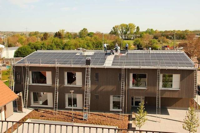 Solaranlage auf dem Gottenheimer Kindergarten soll Strom für 25 Haushalte liefern