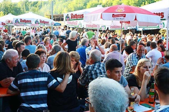 Der Weinfest-Ausfall trifft die Bombacher Vereine hart
