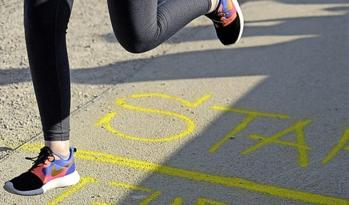 Die Läufer müssen noch warten.  | Foto: Pressebüro Schaller