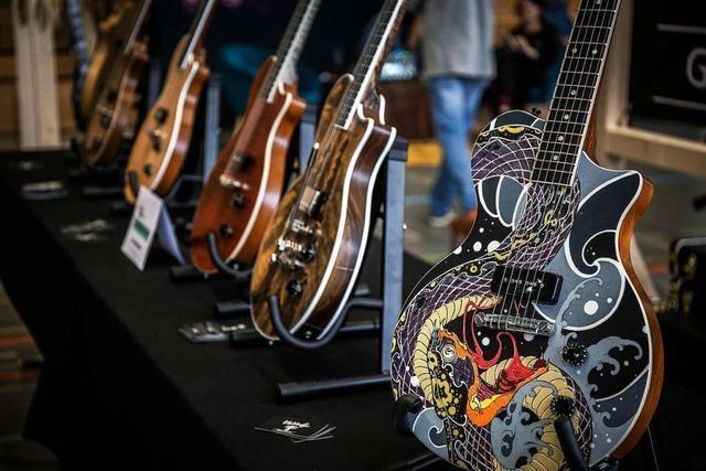Laufenburger Zimmermann baut E-Gitarren – als edle Unikate