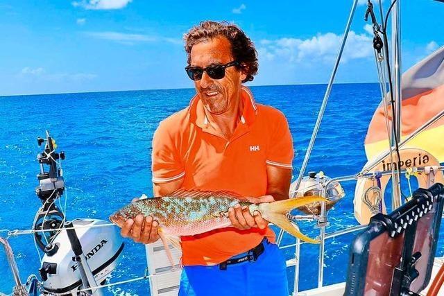 Ein Breisacher sitzt mit seinem Segelschiff in der Karibik fest