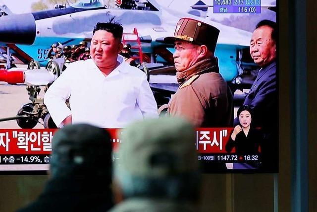 Rätselraten um Gesundheitszustand von Kim Jong-un