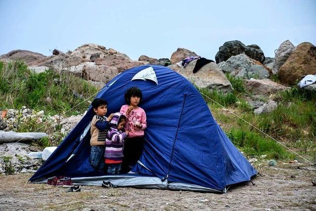 Südwesten nimmt vorerst keine Flüchtlingskinder von griechischen Inseln auf