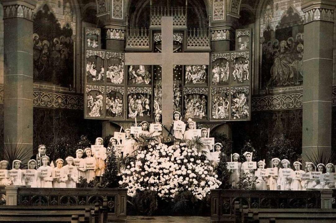 Viele fehlten nach dem Krieg: Ein Gott...an die toten Soldaten aus St. Georgen.  | Foto: privat