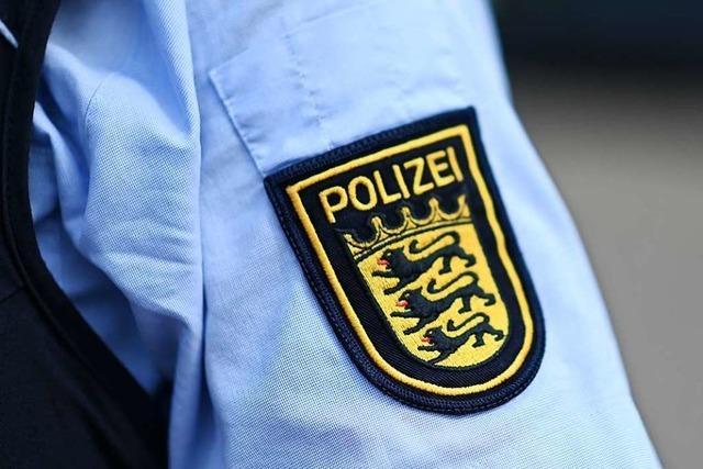 Zwei Personen werden bei einem Unfall in Lörrach leicht verletzt