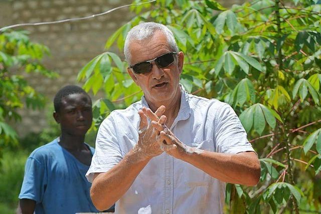 Freiburger hilft in seiner Wahlheimat Kenia beim Infektionsschutz