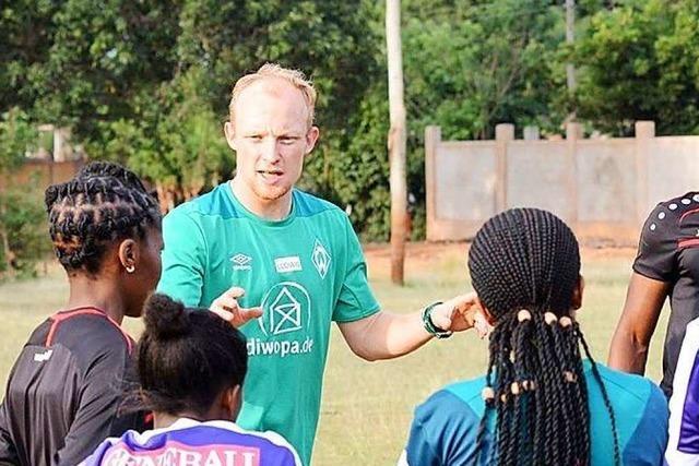 Merzhausener koordiniert bei Werder Bremen Sportangebote für Kinder