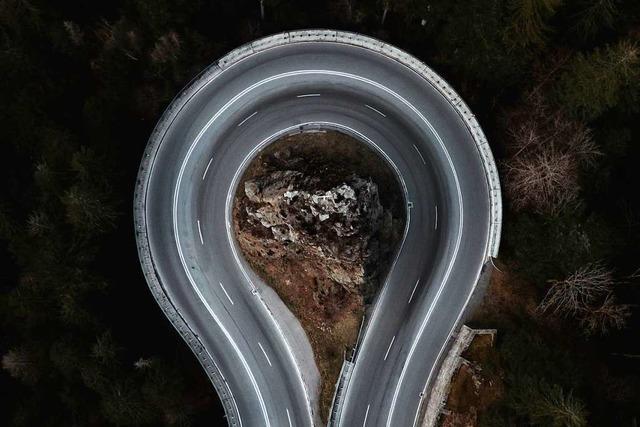 Die Höllental-Verkehrsschleife mal ohne Autos