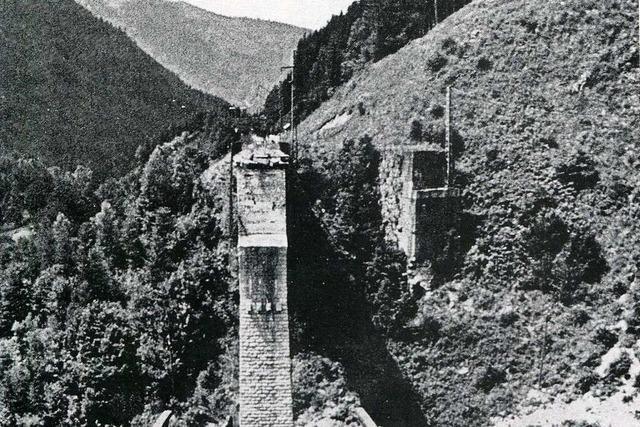 Vor 75 Jahren sprengten deutsche Soldaten die Ravennabrücke in Breitnau