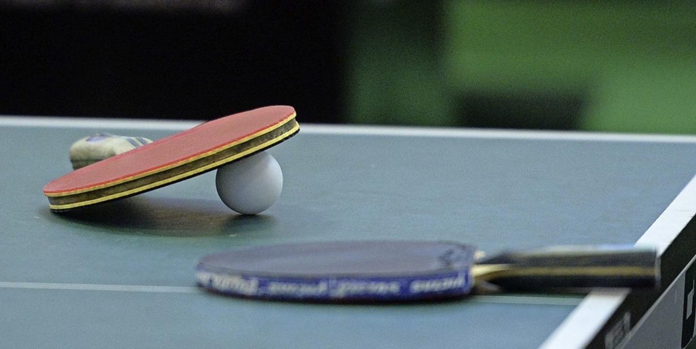Heißlers große Leidenschaft ist seit J...en der Tischtennissport in der Region.  | Foto: Patrick Seeger