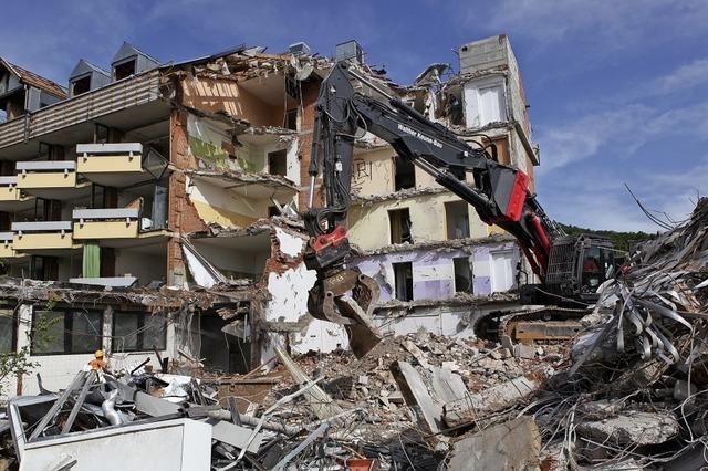 Der Altbau des Emmaus wird abgerissen