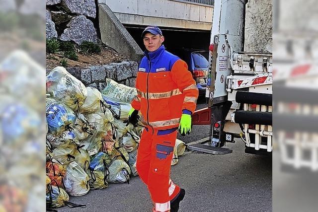 Der Müll muss auch in Krisenzeiten abgeholt werden