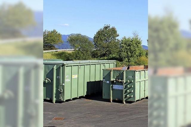 Recyclinghöfe bereit für den Neustart