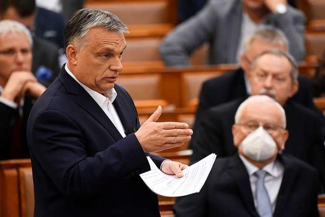 Die Kritik Europas an Viktor Orban wird leiser