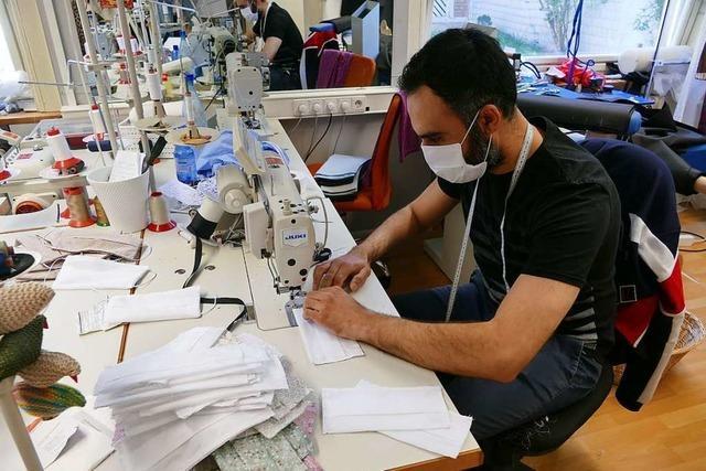Wo man in Lörrach Stoffmasken kaufen kann
