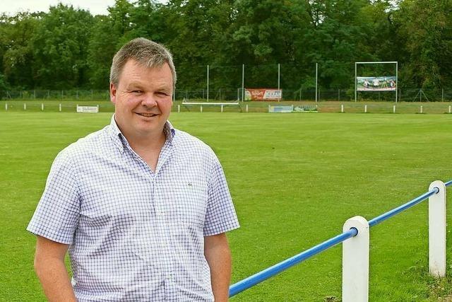 Achim Herr von den Sportfreunden Grißheim freut sich über freie Zeit