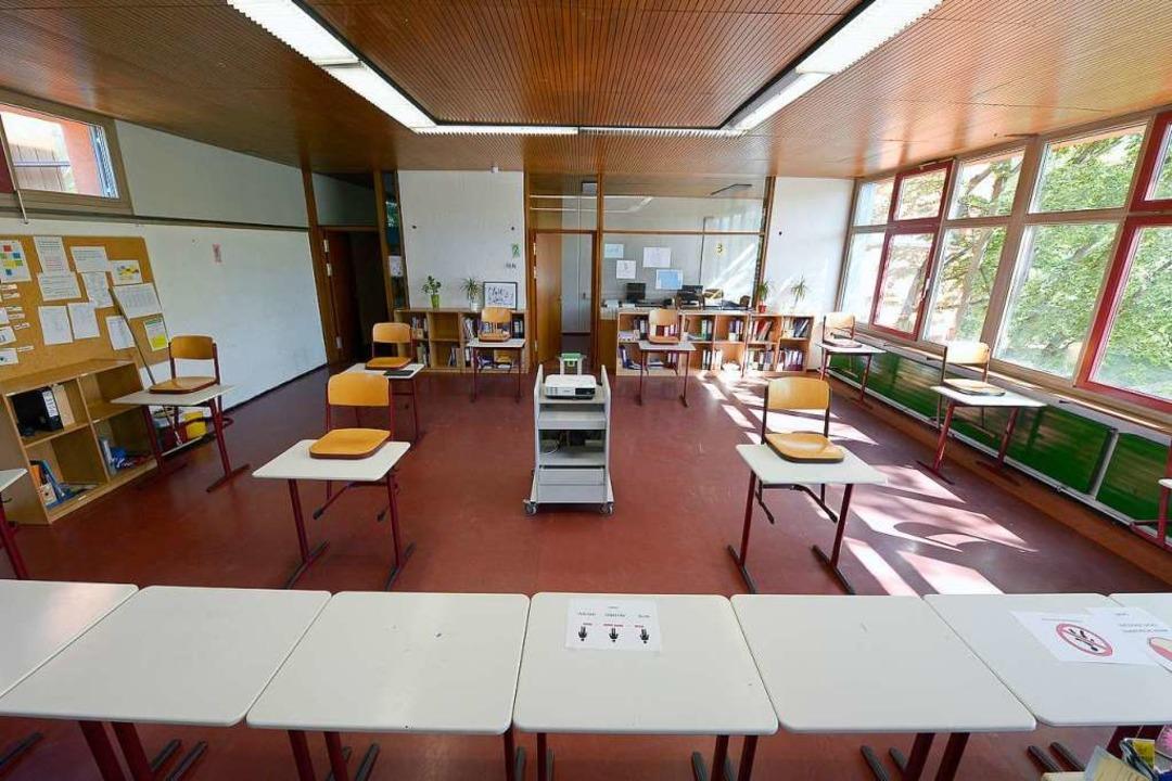 Das geteilte Klassenzimmer wird jetzt zum Standard.  | Foto: Ingo Schneider