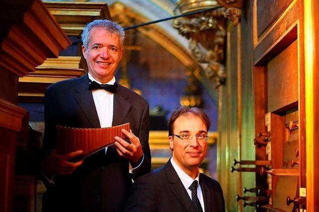 Philippe Emmanuel Haas ist ein Meister der klassischen Panflöte