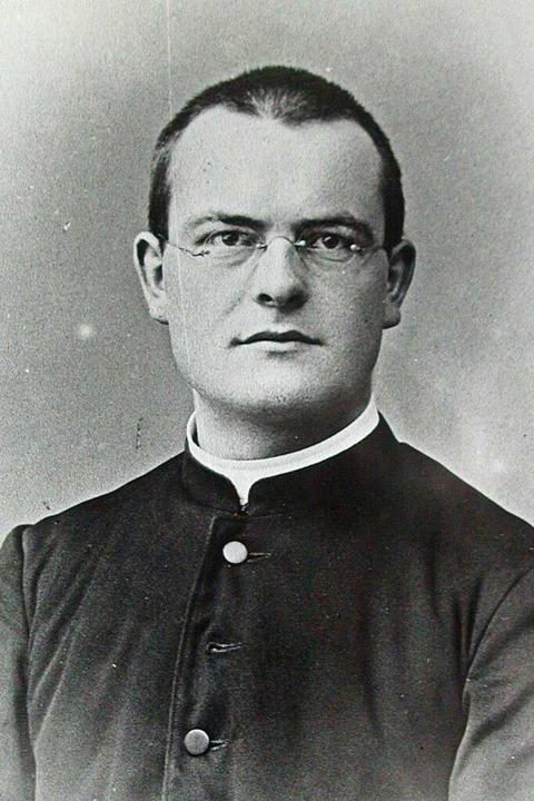 Willibald Strohmeyer 1905 als Neupriester und Vikar in Säckingen  | Foto: Repro: Manfred Lange