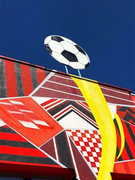 Die SC-Wand in Titisee  | Foto: Tanja Bury