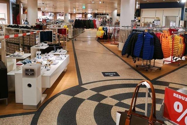 Karstadt öffnet als erster großer Laden in Offenburg wieder