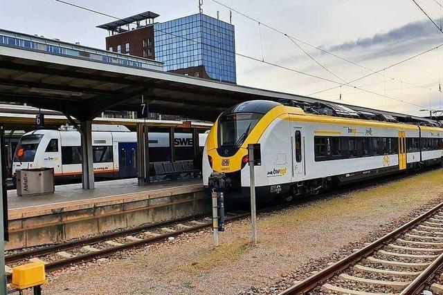 Unbekannter entblößt sich in Zug von Freiburg Richtung Seebrugg