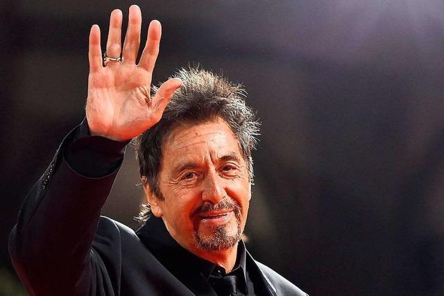 Der Schauspieler Al Pacino wird am Samstag 80