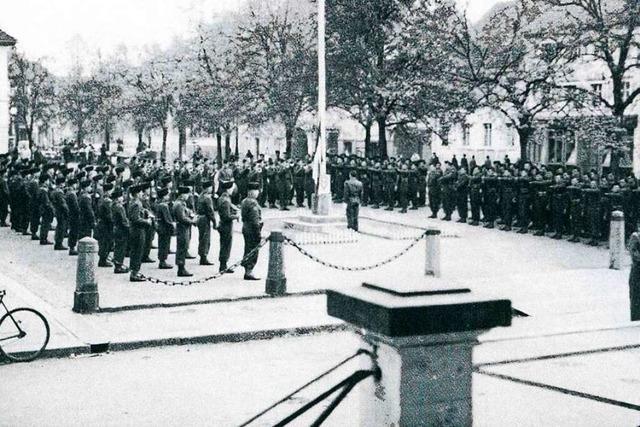 In Schopfheim endete der Krieg kampflos – bis auf einen einzelnen Schuss