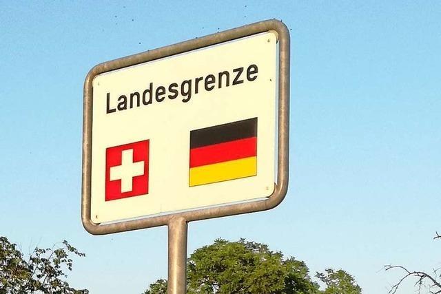 Lockerungen bei Grenzübertritten in die Schweiz und nach Frankreich