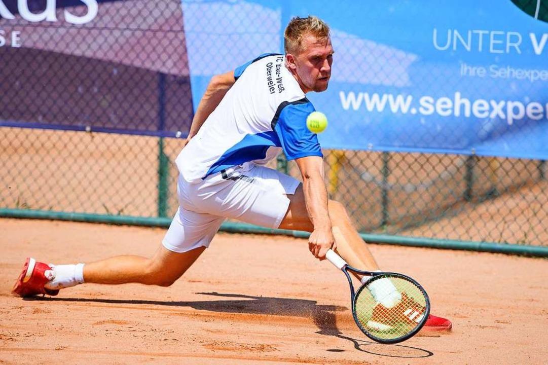 Adrian Obert: Die Saison ist noch weit weg, aber Training ist wieder möglich.  | Foto: Sebastian Koehli