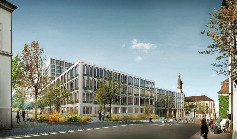 So könnte das Klinikum II des Basler Unispitals einmal aussehen.    Foto: USB